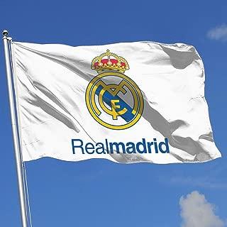 Real Madrid/Manchester United/Juventus/Chelsea/Barcelona/Arsenal FC House Flag Garden Flag Yard Banner Garden Flag 3' X 5'