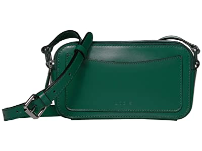 Lodis Accessories Audrey Arabella Crossbody (Ivy/Deep Plum) Handbags