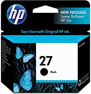 hp 27 black ink cartridge price
