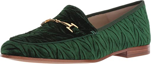 green loafer shoes