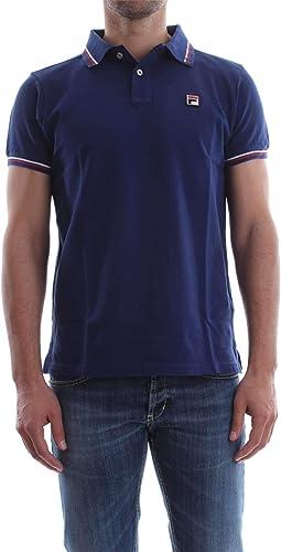 Fila Luxury mode Homme 392000bleu Bleu Polo   Saison Perhommeent
