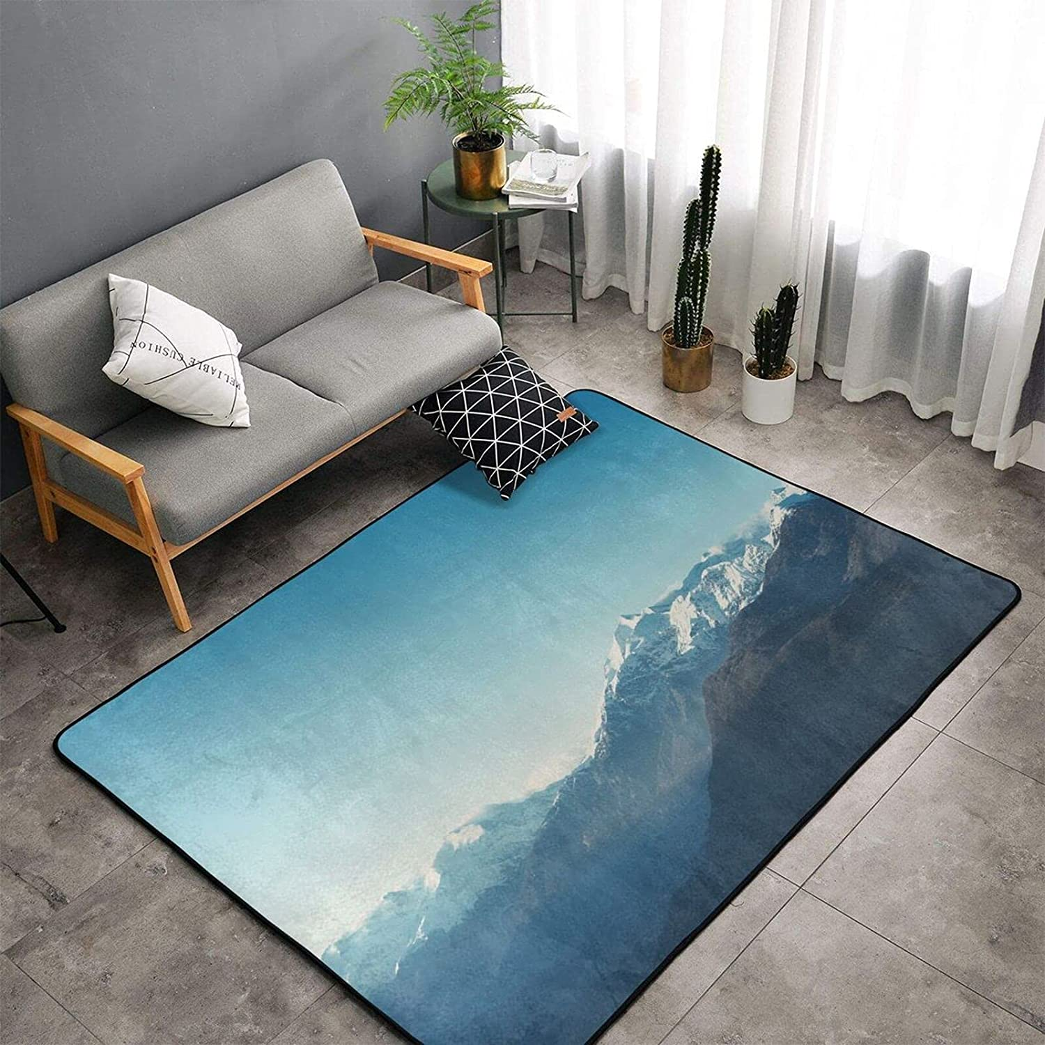 Kinedon Carpet Non-Slip Area Max 76% OFF Rugs low-pricing Camping Carpets Soft Bedroom K