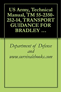 US Army, Technical Manual, TM 55-2350-252-14, TRANSPORT GUIDANCE FOR BRADLEY FIGHTING VEHICLE SYSTEM, (BFVS), INFANTRY, M2, M2A1, AND M2A2 CAVALRY, M3, M3A1, AND M3A2,