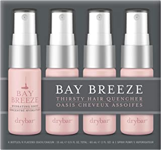 Drybar Bay Breeze Hydrating Shots, Pack of 4, 0.5 Ounces Each