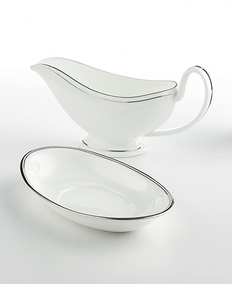 Waterford China Kilbarry Platinum Gravy Stand
