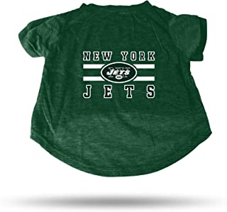 New York Jets Dog Cat Premium T Shirt Cotton Tagless Extra Large