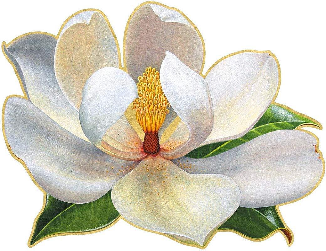 Caspari Magnolia Die Cut Place Mats 2 Included