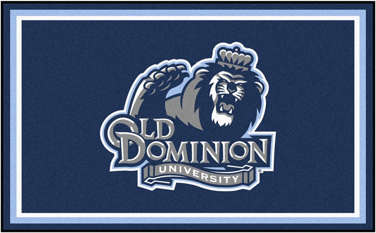 Old Dominion University 4ft. x Plush 6ft. Area Rug Year-end gift Online limited product