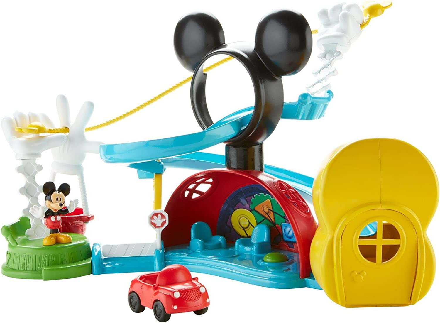 FisherPrice Disney Mickey Mouse Clubhouse  Zip, Slide and Zoom Clubhouse
