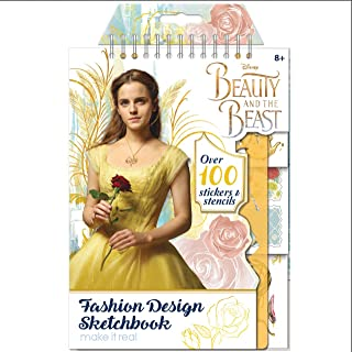 Make It Real Beauty and the Beast Disney Movie Fashion Design Sketch Book Art Kit