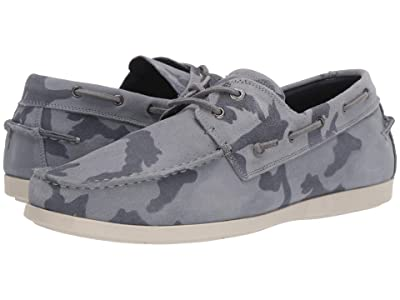 Steve Madden Gametyme Boat Shoe (Grey Camo) Men