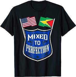 Guyana USA Flag Funny T-shirt Guyanese Pride Men Women Gift