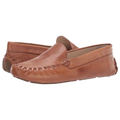 Cole Haan Evelyn Driver (Pecan Leather) Women