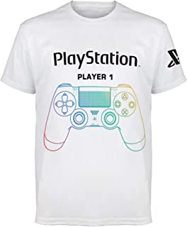 Popgear Playstation Juego Terminado Camiseta de Las Muchachas | mercancía Oficial