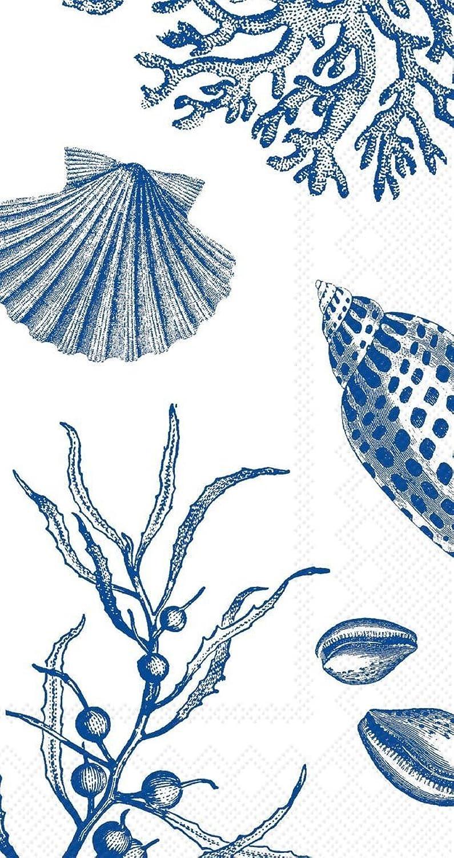 Ideal Home Serie 16Stück 3-lagig Papier Gstetuch Servietten, Shore Thing