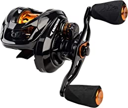 KastKing Zephyr Bait Finesse BFS Baitcasting Reel, Shallow High-Speed Aluminum Spool, Cross-Fire...
