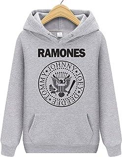 Ramones Unisex Sudadera con capucha para hombre y mujer