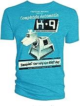 Doctor Who K-9 Robot Dog Blue T-Shirt