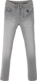 Vertbaudet - Pantalones vaqueros para niño (tejido vaquero, transpirable)