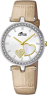 Lotus watches Womens Analog Quartz Watch with Stainless Steel bracelet 18622/2