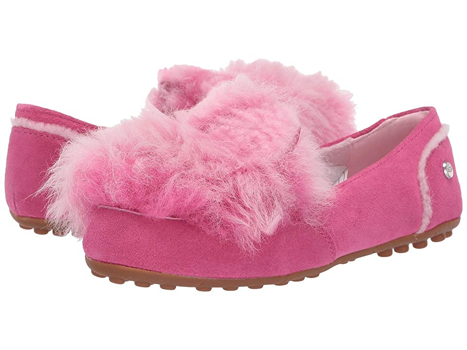 UGG Kids Pinkipuff Hailey (Little Kid/Big Kid) (Pink Azalea) Girls Shoes