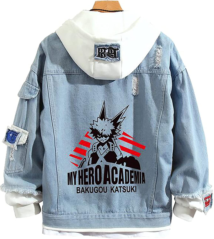 Anime My Hero Academia Jacket Graphic Prited Hoodie Cosplay Unisex Coatcosplay Jacket For Men Women