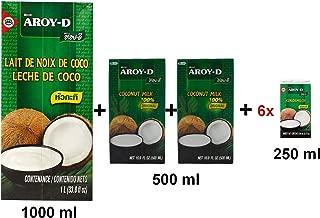 Leche de coco Aroy-D sin conservantes Oferta de prueba, 1 x