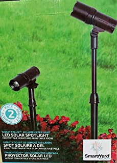 SmartYard LED Solar Spotlight 2 Pack