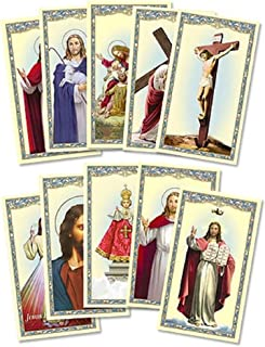 JMJ Products, LLC Set of 20 Assorted Laminated Holy Cards