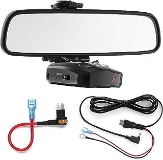 Radar Mount Mirror Mount + Direct Wire + Micro2 Add a Circuit - Cobra XRS ESD Vedetta