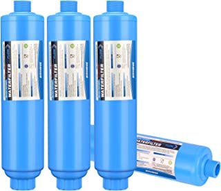 Kohree RV Marine Inline Water Filter, NSF Certified, Garden Camping Water Hose KDF Filter Accessories for Boat RV Camper G...