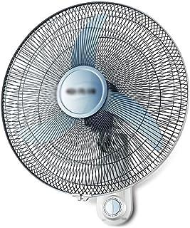 QFFL Ventilador de Pared, Durable, Circulación Fuerte, Velocidad del Viento de Tercera Marcha, Dormitorio de Estudiantes Restaurante Sacudiendo la Cabeza del Ventilador (Color : Black)