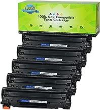 NineLeaf Replacement Toner Cartridge Compatible for CE278A 78A LaserJet P1566 Pro M1536dnf P1606dn Printers (Black,5-Pack)