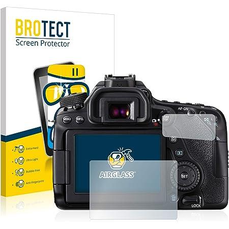 Atfolix Glasfolie Kompatibel Mit Canon Eos 80d Kamera