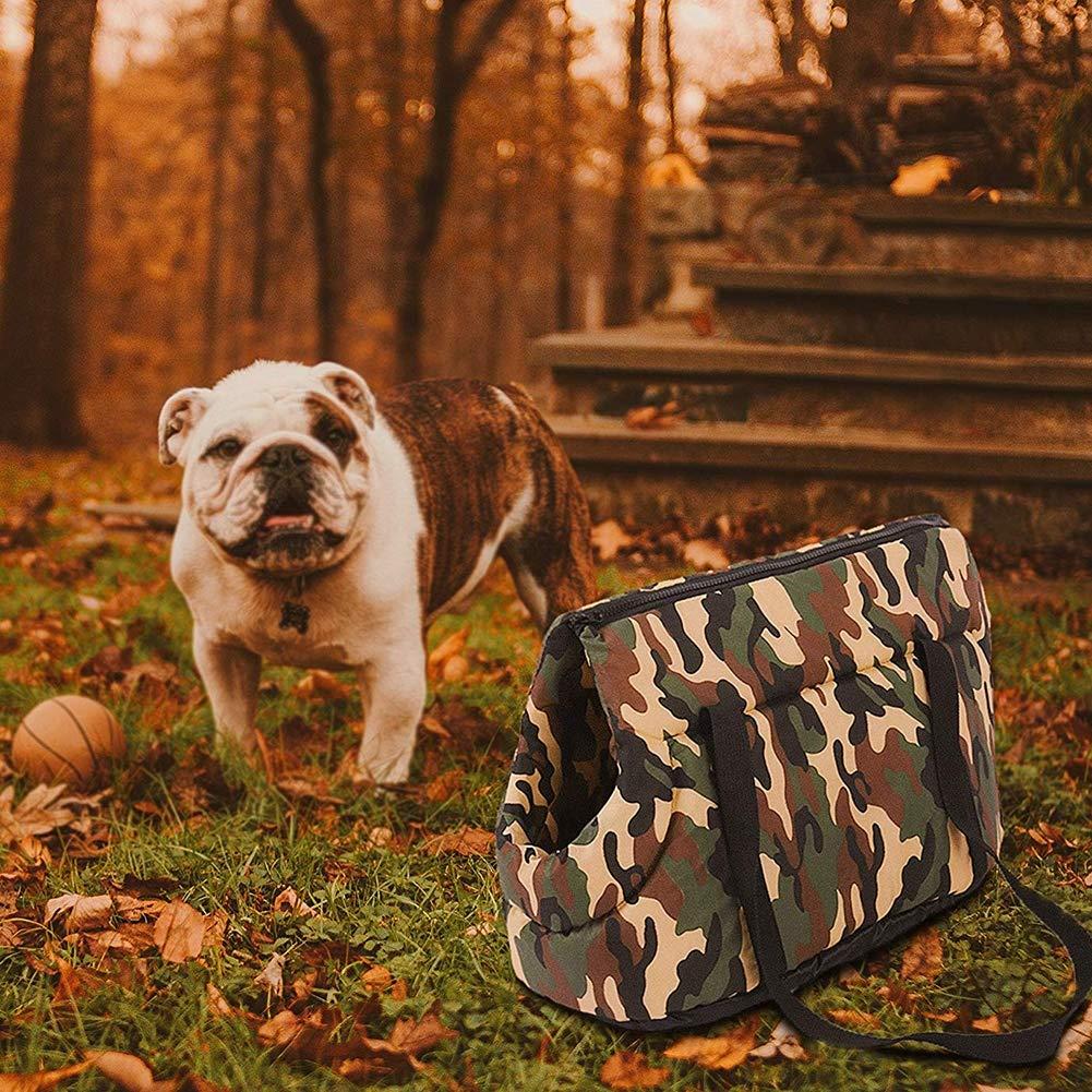 DALEI Bolso de Viaje para Monedero para Mascotas, Gran Portador de Lados Suaves para Perros pequeños y Gatos Grandes de Cachorros/Portador de Viaje para Mascotas Ligero y Duradero y cómodo: Amazon.es: Hogar