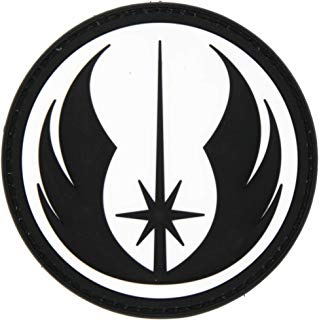 NEO Tactical Gear Star Wars Jedi Order Galactic Republic Patch - PVC Morale Patch, Velcro Backed Morale Patch, Star Wars Morale Patch