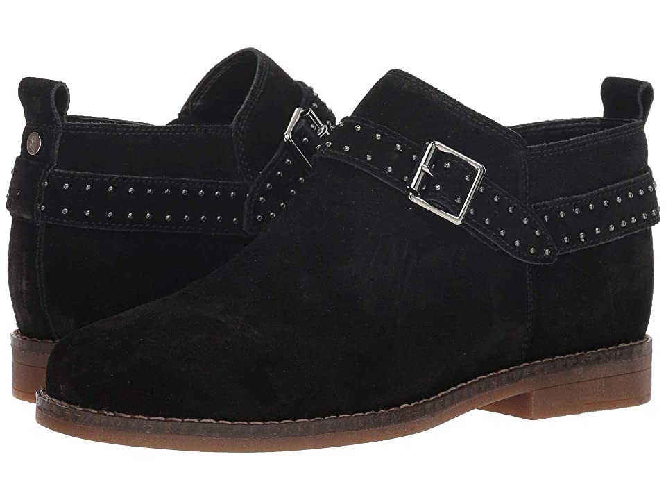 Hush Puppies Cayto Studded Belt (Black Suede) Women