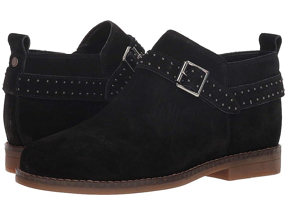 ec6667cbf1902 Hush Puppies Cayto Studded Belt (Black Suede) Women s Dress Pull-on Boots