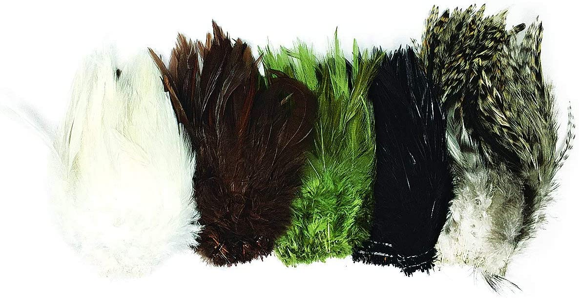 Creative 4 years warranty Angler Saddle Minneapolis Mall Hackle for Fly High-Grade Natural Tying