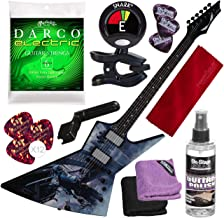 Dean Zero Dave Mustaine Dystopia Solid-Body Electric Guitar with Clip-on Tuner and Accessory Bundle