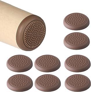 LEZED Almohadillas de Silicona para Patas de Muebles Almohadillas Protectoras de Suelo Autoadhesivas para Patas de Mesa pa...