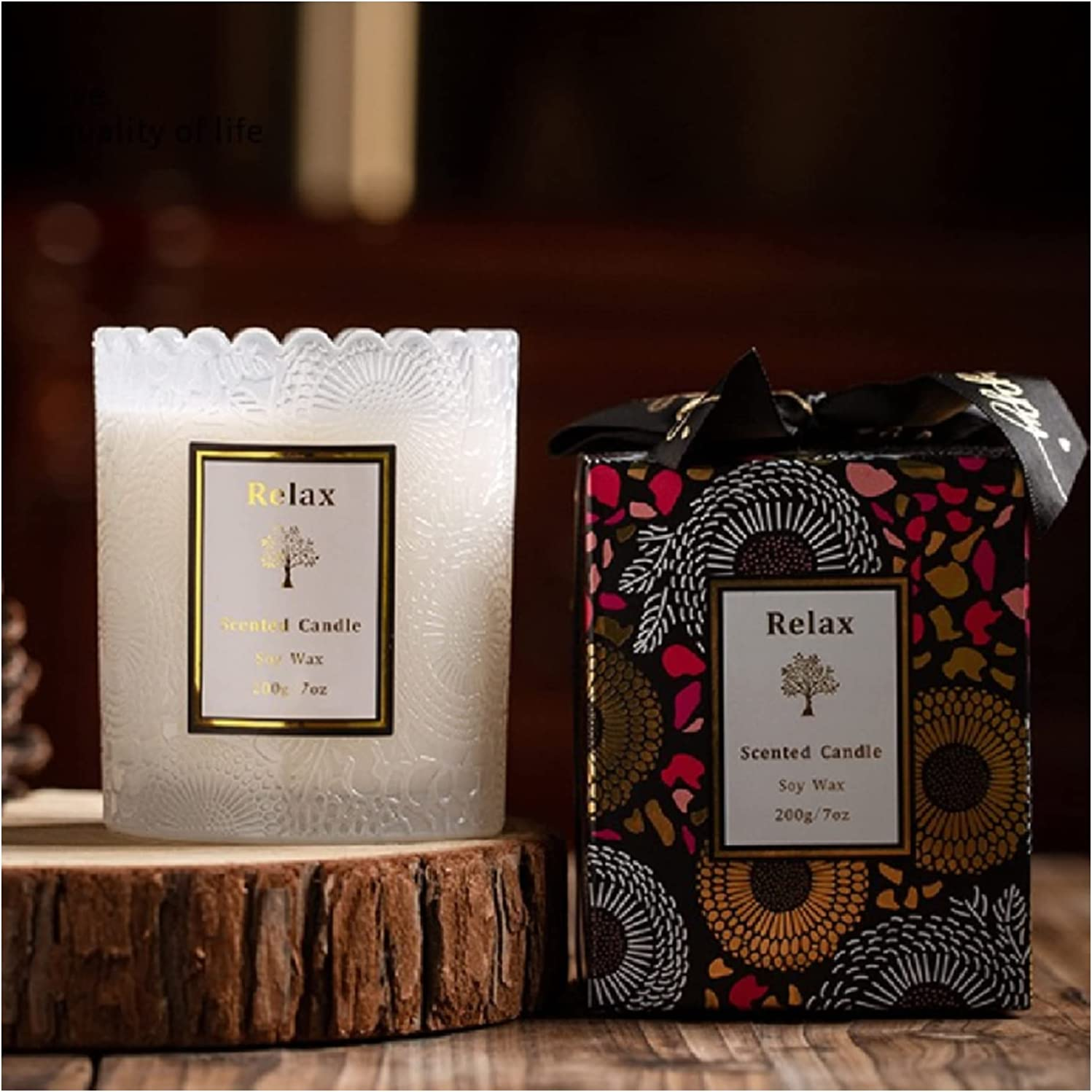 Sacramento Mall Max 59% OFF Lace Embossed jar Candle Cups Companion Wax Soy Melting Wa Gifts