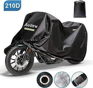 /à leau Housse de Protection Impermeable pour Moto,Ytesky Scooter Couverture Ext/érieur R/ésistant aux d/éjections doiseaux au Vent /à la Poussi/ère//Neige//Pluie UV Couverture Imperm/éable en Polyester