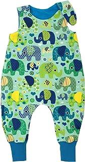 Kleine Könige Baby Strampler Jungen Baby Body  Modell Elefantenparty türkis petrol  Ökotex 100 zertifiziert  Größen 50-92