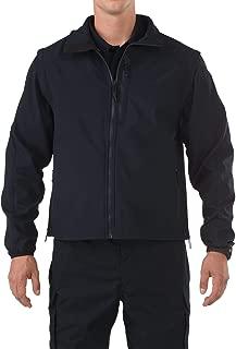 Tactical Men's Valiant Soft Shell Light Patrol Duty Jacket, Wind Resistant, Style 48167