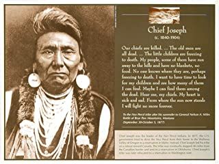 Knowledge Unlimited Inc. Great Native Americans - Chief Joseph - Poster