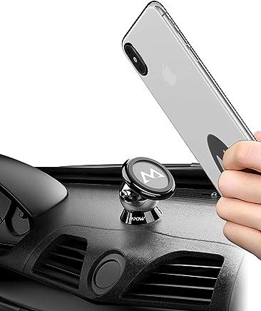 Mpow Handyhalterung Auto Magnet Handyhalter Auto handyhalterung 360 Grad Armaturenbrett KFZ Halterung Halterung Auto handyhalter fürs Auto Magnet für iPhoneX/XS/8/7/6,GalaxyS10/S9/S8/S7/J5,Navi usw.