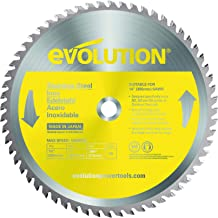 Evolution Power Tools Stainless Steel Carbide-Tipped Blade, 355 mm