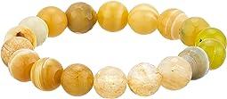 Third Chakra Self Confidence Gemstone Beaded Bracelet