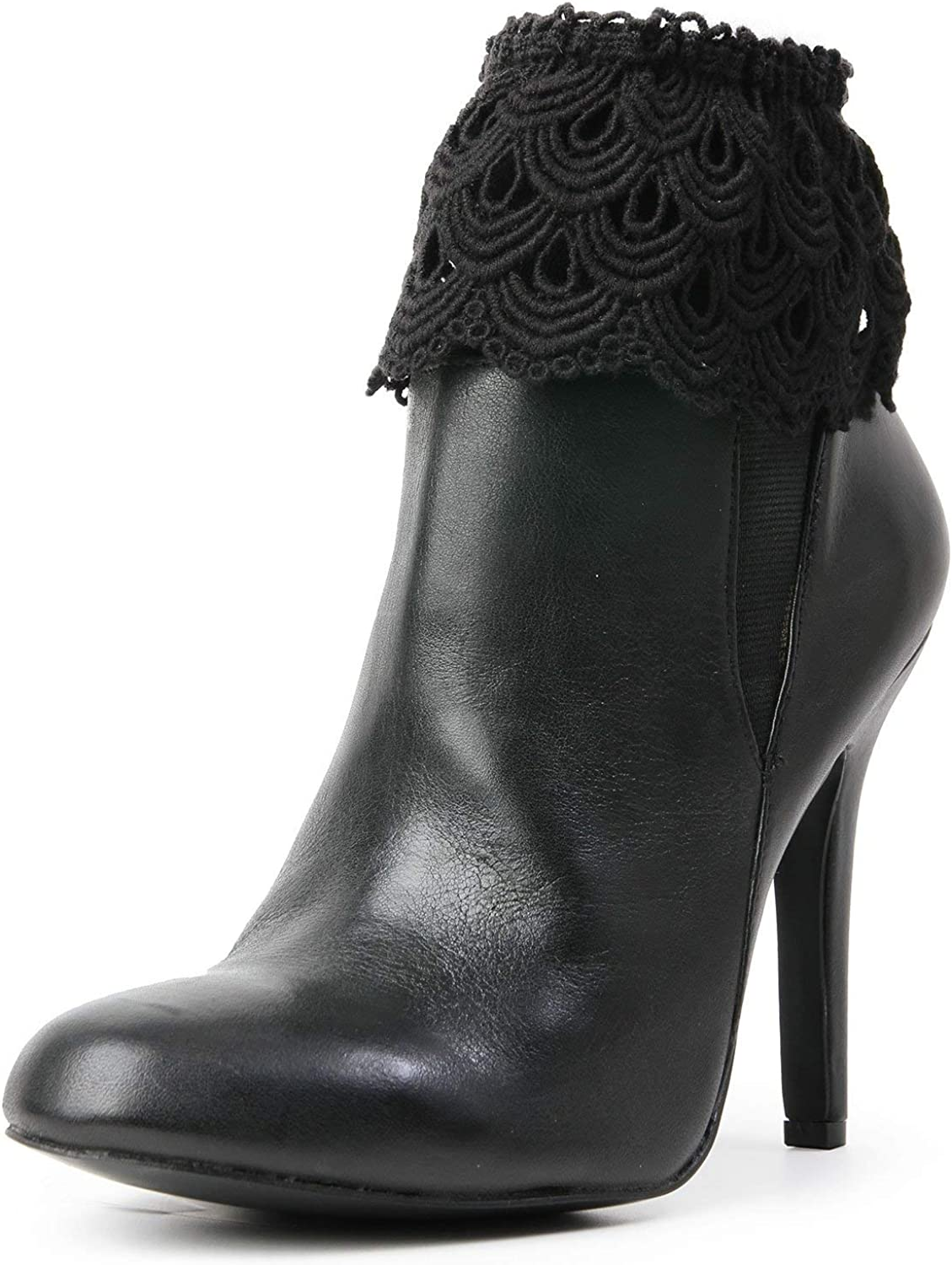 MeMoi Grazyna Lace Boot Toppers